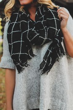 Lightweight Unfinished Hem Scarf – UOIOnline.com: Women's Clothing Boutique