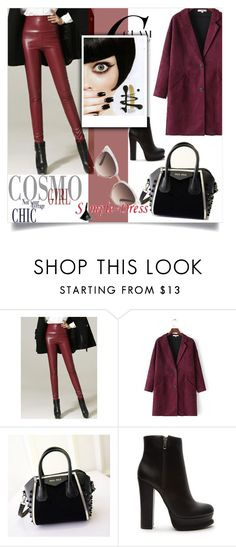 """""""Simple-Dress 12"""" by zenabezimena ❤ liked on Polyvore featuring Forever 21 and Gucci"""