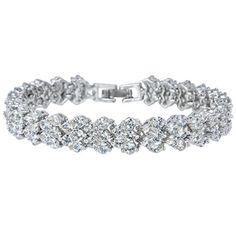 Ever Faith CZ Prong Bridal Tennis Flower Bangle Bracelet Silver-Tone Clear N04867-1 Ever Faith http://www.amazon.co.uk/dp/B00RBE9LT4/ref=cm_sw_r_pi_dp_iOeUvb1CXHBJZ