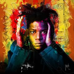 """""""i was just tired of seeing white walls, with white people, with white wine, you know?""""  — Jean-Michel Basquiat"""