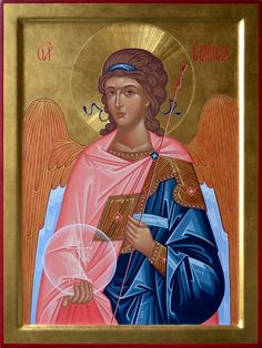 Archangel Gabriel by Antonella Formenti