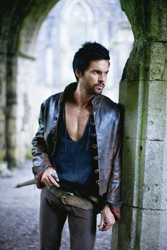 Tom Riley (Da Vinci's Demons) He's one of my new favorites. I don't know where my facial hair obsession came from.