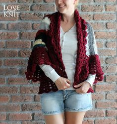 ON SALE knitted cardigan womens cardigan crochet by LoveandKnit