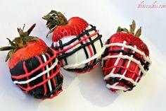 Stuffed strawberries! (cookies and cream, cupcake, s'mores, brownie fudge cake, AND cheesecake)