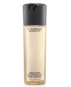 """Dita: """"MAC has this product called Charged Water and I'll spray it over my foundation just to give it a nice fresh, dewy look."""" Just repurchased another!  Love for moisture and dewey feel"""