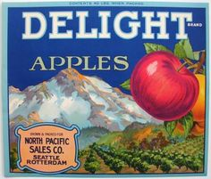 DELIGHT Vintage Seattle, WA- Apple Crate label- Seattle cops to deal Doritos and information at Hempfest  ~   http://seattletimes.com/html/localnews/2021614151_hempfestdoritosxml.html  ~  The people have spoken. Voters have passed Initiative 502 and beginning December 6th, it is not a violation of state law for adults over 21 years old to possess up to an ounce of marijuana  for personal use. ~  http://spdblotter.seattle.gov/2012/11/09/marijwhatnow-a-guide-to-legal-marijuana-use-in-seattle…