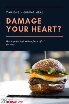 Treating yourself to a cheat day every once in a while may not seem like a big deal, however according to a recent study a single high-fat could damage your in the long run. cardiologist Amit Khera, M., shares some tips on sticking to a heart healthy Healthy Man, Healthy Habits, Healthy Eating, Healthy Recipes, Heart Health Month, Healthy Cholesterol Levels, High Fat Foods, Low Fat Yogurt, Cheat Day