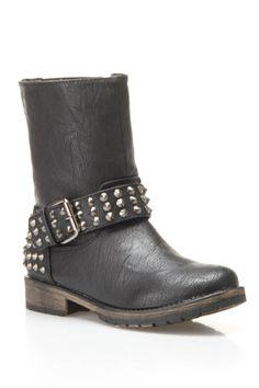 Rocker Combat Boot