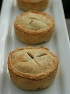 Harvest Pies from Vegan Dad I've made this, only I made one big pie instead of many little ones, SO YUMMY!!!