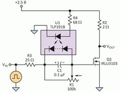 n channel mosfet switch imagem pinterest linux and arduino mos fet diagram multisim Простой способ решения проблемы управления затвором mosfet circuit diagrampower