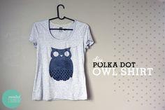 diy-polka-dot-owl-shirt