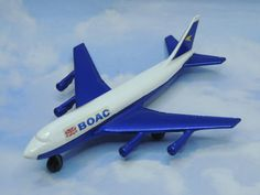 Matchbox Skybusters SP-10 Boeing 747 BOAC Lesney 1973