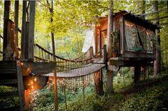 Atlanta tiny homes, Airbnb, treehouse, treehouse vacation