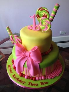 Candyland By SweetDiscoveries on CakeCentral.com
