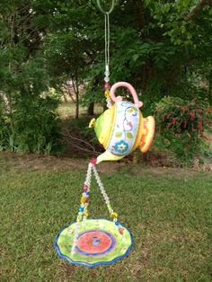 Whimsy Garden Birdfeeder by FrillingGifts on Etsy ... DO YOU LOVE IT!
