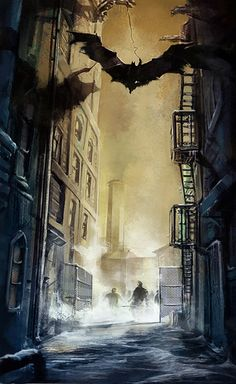 Carlos d'Anda : Batman Arkham City Concept Art