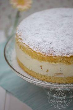 Sommer-Rezept: Pfirsich-Maracuja-Torte mit Joghurt-Käse-Sahne Creme