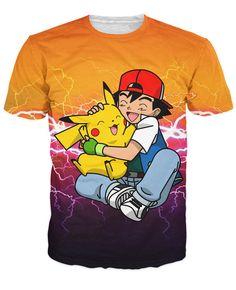 Ash and Pikachu T-Shirt World of Ash    #WorldOfAsh #PokemonGO #Pokemon