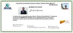 Martianos. ACC-APM. José Luis González Miembro de Honor