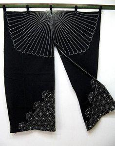 natural indigo sashiko 1900's