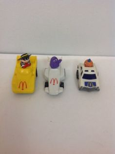1985 McDonalds fast mac happy meal cars lot of 3 - http://hobbies-toys.goshoppins.com/fast-food-cereal-premium-toys/1985-mcdonalds-fast-mac-happy-meal-cars-lot-of-3/