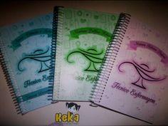 Cadernos de anotações para cursos de  faculdade