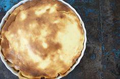 Cheesecake - kaastaart met citroen en een bodem van speculaas