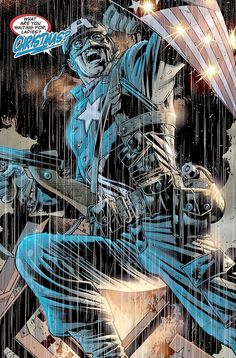 The Ultimates   Captain America by Bryan Hitch