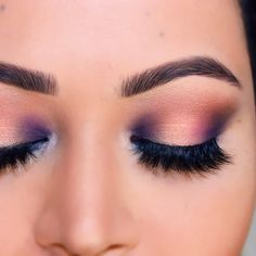 I love this look 💜 double tap & tag some friends that needs to try this 😃 Snap me- Preanka_Glam 👻 #preanka #preankaglam #preanka_glam…