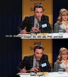 Bahahaha!!!!!!  #04x13 #TheBigBangTheory #SheldonLeeCooper