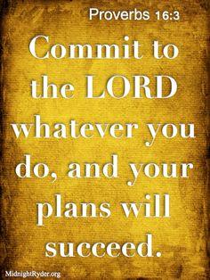 Proverbs 16 3