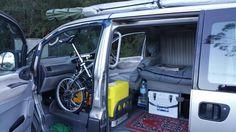 Small van camper conversion