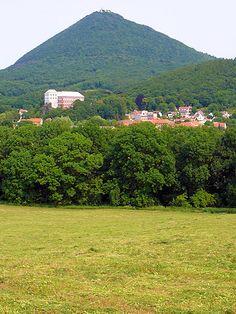 Milešovka, České středohoří