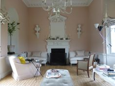 Veere Grenney's home ~ picture taken by Ben Pentreath