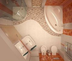 Modern Bathroom design small