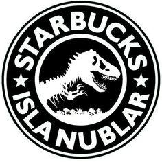 The new Starbucks Jurassic World Dinosaurs, Jurassic Park World, Silhouette Cameo, Starbucks Logo, Falling Kingdoms, Prehistoric, Cricut, Geek, Coffee