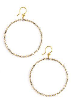 Chan Luu Coated Silver Crystal Hoop Earrings 45 00 Http