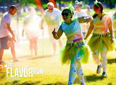 Remember the team with Pineapple pants? Yeah we loved them too! #pineapple #cool #team #5k #funrun #fruit