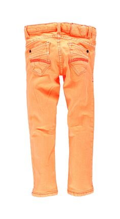 Jeans Garcia A32518 SARA STITCH GIRLS JUNIOR 178 Neonorange