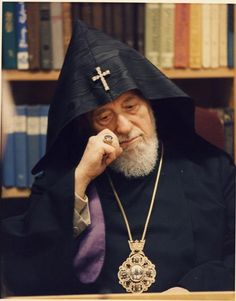 VAZGEN I-----Armenian Holy Catholicos,who devoted his LIFE to his Armenian nation...... We will never forget you Holy Father.....Your armenians.....from any corners of the world.....