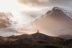 Photo diary: An Icelandic Adventure. Beautiful series of self portraits in a red dress. In Iceland. Landscape Photos, Landscape Photography, Travel Photography, Adventure Photography, Inspiring Photography, Photography Tips, Iceland Landscape, Foto Art, Photo Diary
