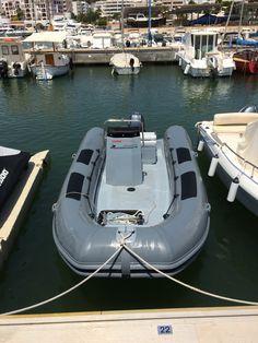 Unser Tauchboot auf Ibiza