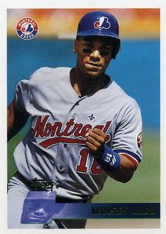 moises alou baseball card   1996 Topps Baseball 309 Moises Alou