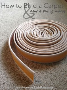 Looking For A Way To Save On Area Rugs Make Rug Of Any Size From Carpet Remnants I Ll Show You How Bind Into An In No