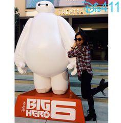 """Photo: Ashley Argota Had Fun At The Screening Of Disney's """"Big Hero 6″ October 18, 2014"""
