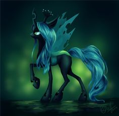 changeling_queen_by_entadeath