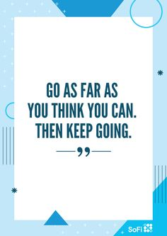 Motivational career quote of the week. Use for inspiration, as needed.
