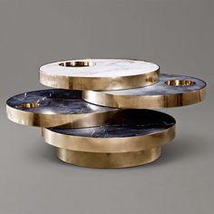 the 'Solaris Kinetic table' by Lara Bohinc and Lapicida (stone mill)