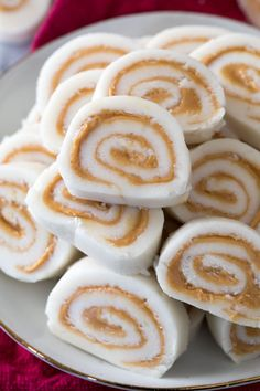 These easy Christmas candy recipes, from Christmas crack to chocolate fudge, are guaranteed to fill you with cheer this holiday season. Find one of the best Christmas candy recipes here that'll wow all of your guests. Peanut Butter Candy, Peanut Butter Recipes, Peanut Butter Pinwheel Candy Recipe, Salted Butter, Potatoe Candy Recipe, Mashed Potato Candy, Mashed Potatoes, Peanut Butter Truffles, Holiday Baking