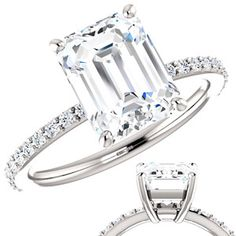 1000 ideas about moissanite on pinterest engagement for How far can granite span without support